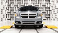 2008 Dodge Grand Caravan, front view, exterior, manufacturer