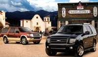 The 2008 Ford Expedition, exterior, manufacturer