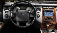 2008 Ford Expedition, steering wheel, interior, manufacturer