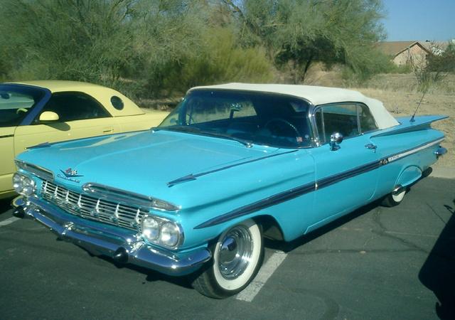 1959 Chevrolet Impala, 1959 Chevy Impala, exterior