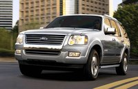 2008 Ford Explorer, The 08 Ford Explorer, exterior, manufacturer