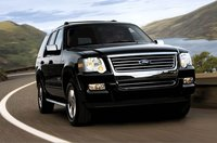 The 2008 Ford Explorer, exterior, manufacturer