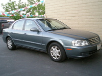 2001 Kia Optima Overview
