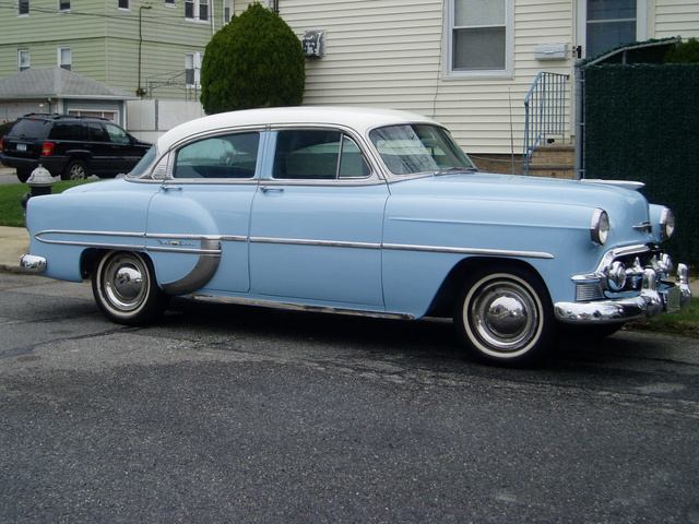 1953 Chevrolet Bel Air, Passenger's side, exterior, gallery_worthy