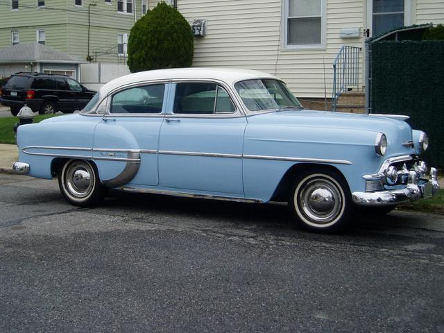 1953 Chevrolet Bel Air, Passenger's side, exterior
