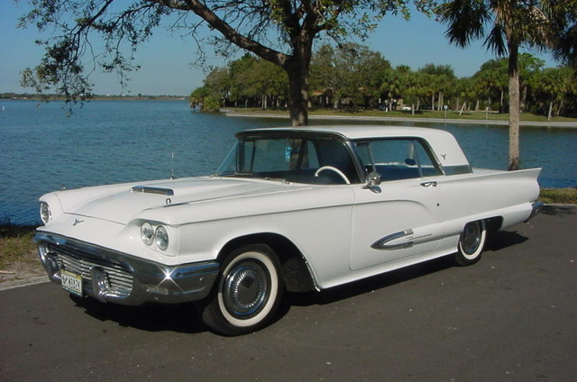 1959 Ford thunderbird with very rare Borg-Warner 3-speed manual transmission and overdrive. H9YH112305. Thunderbird Registry #17402