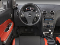 2008 Chevrolet HHR, View from the driver's seat, interior, manufacturer