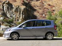 2007 Honda Fit, Honda Fit at Kern River