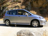 2007 Honda Fit, Honda Fit at Kern River, CA