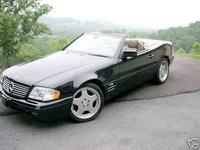 1995 Mercedes-Benz SL-Class 2 Dr SL600 Convertible, Picture of 1998 Mercedes-Benz SL600 2 Dr SL600 SL1 Sport Convertible