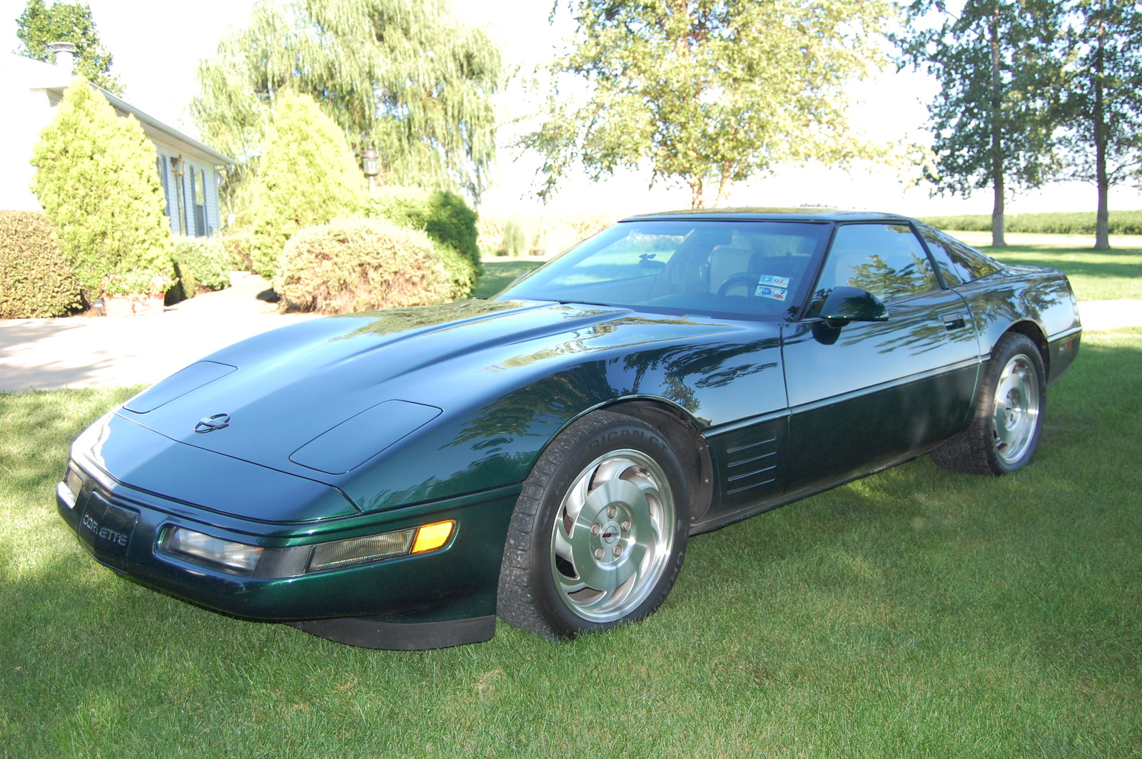 1993 Chevrolet Corvette Base, Polo Green 1993 Coupe