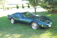 1993 Chevrolet Corvette Base, Picture of 1993 Chevrolet Corvette 2 Dr STD Hatchback, exterior