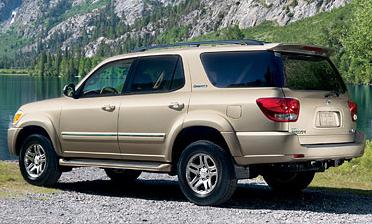 2007 Toyota Sequoia 4 Dr Limited V8 4WD, 2007 Toyota RAV4, exterior, manufacturer