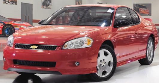 2007 Chevrolet Monte Carlo, 2007 Chevy Monte Carlo, exterior, manufacturer