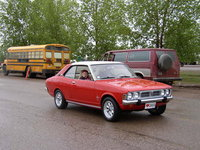 1973 Dodge Colt, Here we are taking part in a very rainy Canada Day Parade in Forrt Nelson BC in 2002.