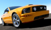2008 Ford Mustang, Front-quarter view from down low, manufacturer, exterior