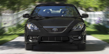 2008 Toyota Camry Solara Sport, Front View, exterior, manufacturer