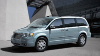 2008 Chrysler Town & Country, Front Corner View, manufacturer, exterior