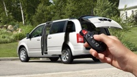 2008 Chrysler Town & Country LX, Keyless Entry, manufacturer, exterior