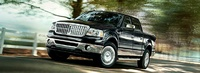 2008 Lincoln Mark LT Base, Front Corner View, exterior, manufacturer