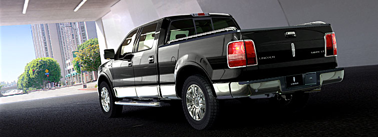 2008 Lincoln Mark LT Base, Rear View, manufacturer, exterior