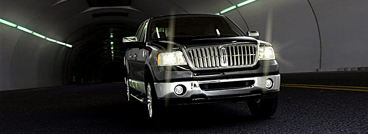 2008 Lincoln Mark LT Base, Front View, manufacturer, exterior
