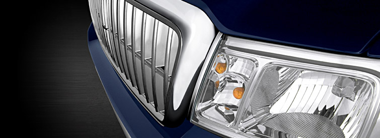 2008 Lincoln Mark LT Base, Headlight View, manufacturer, exterior