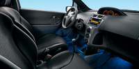 2008 Toyota Yaris Base 2dr Hatchback, Front Seat View, manufacturer, interior