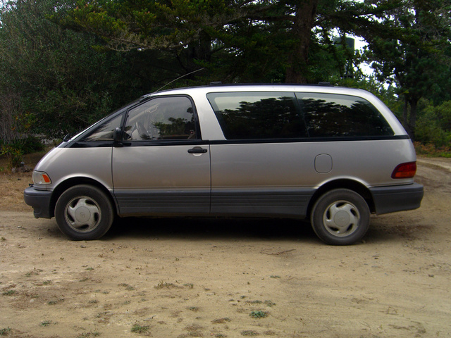 Picture of 1997 Toyota Previa 3 Dr LE All-Trac Supercharged AWD Passenger Van, exterior