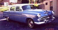 1954 Dodge Coronet, Front-quarter view, exterior