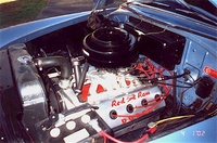 1954 Dodge Coronet, Engine bay