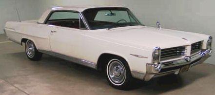 1964 Pontiac Bonneville, Front-quarter view, exterior