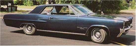 1964 Pontiac Grand Prix, Front-quarter view, exterior