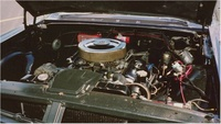 1964 Pontiac Grand Prix, Engine bay