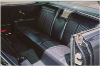 1964 Pontiac Grand Prix, Interior, back seat, interior