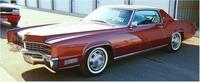 1967 Cadillac Eldorado, Front-quarter view, exterior