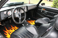 1981 Chevrolet Camaro, Picture of the Interior.  Not yet complete, but looking better.