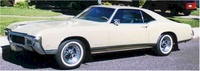 1968 Buick Riviera, Front-quarter view, exterior