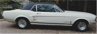 1967 Ford Mustang Coupe, Profile of a GTA Hardtop, exterior