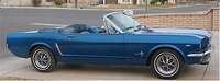 1965 Ford Mustang, Profile from passenger's side, exterior
