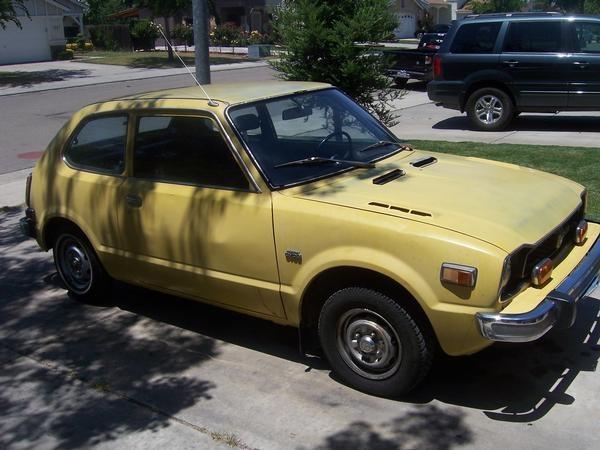 Honda accord 1975