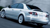 2007 Mazda MAZDA6, back view, exterior, manufacturer