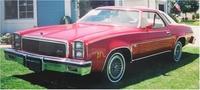 1977 Chevrolet Malibu, Front-quarter view of a '77 Malibu Classic, exterior