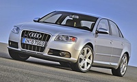 2005 Audi S4, front three quarter