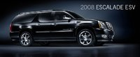 2008 Cadillac Escalade ESV, side