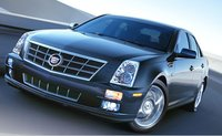 2008 Cadillac STS, three-quarter front