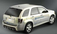 2008 Chevrolet Equinox, top