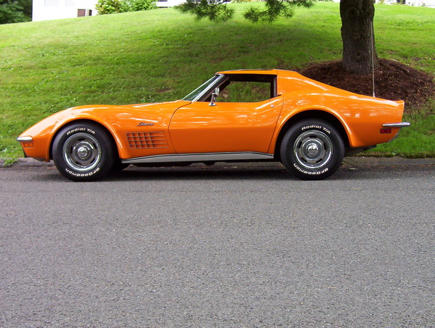 1968 Chevrolet Corvette, day of purchasing my babby.