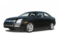 2008 Ford Fusion S, front three quarter, exterior