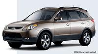 2008 Hyundai Veracruz Limited, three quarter front, exterior, manufacturer